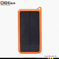 hot sale portable mobile solar powered charger 10000mAh ( PB-SS002)