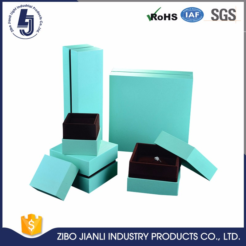 China factory OEM printing ring box jewelry paper