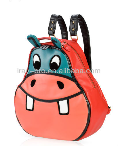 New Fashion Leisure Cartoon Character Hippo Backpack For Sale