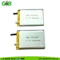 GEB503450 3.7V 850mAh Rechargeable lipo battery