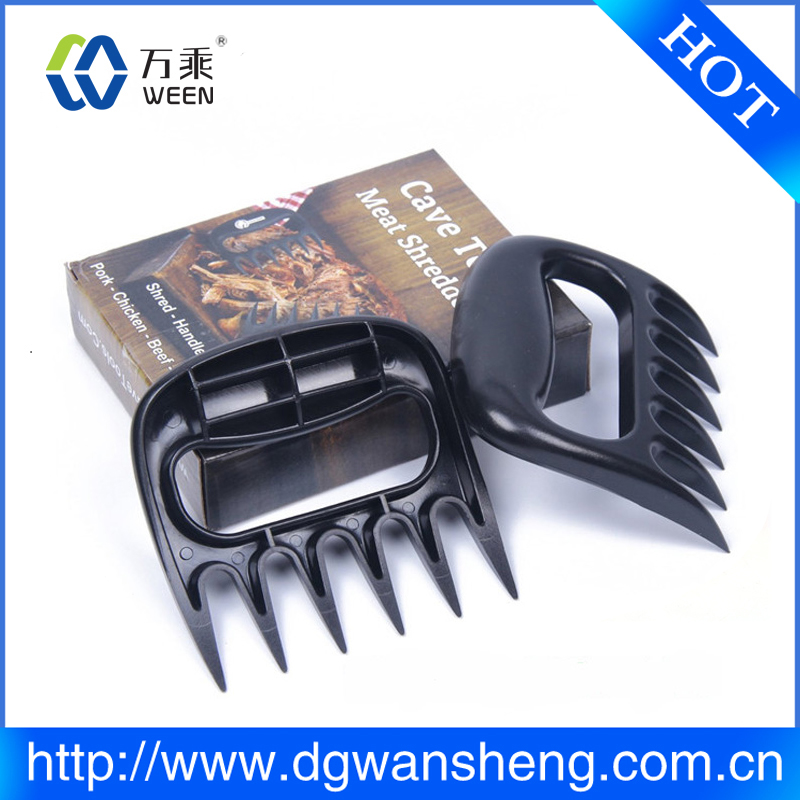 Food grade plastic meat claws for pulled beef pork chicken bear