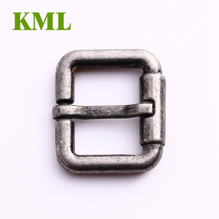 2017 High quality square reversible zinc alloy big pin belt buckle