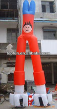 two legs absorbing inflatable air dancer