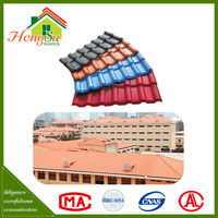 High quality fire resistance spanish synthetic resin traditional chinese roof tiles sale