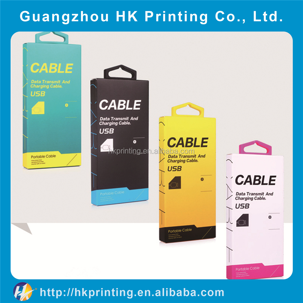 wholesale smart phone case retail <strong>packing</strong> for cable line