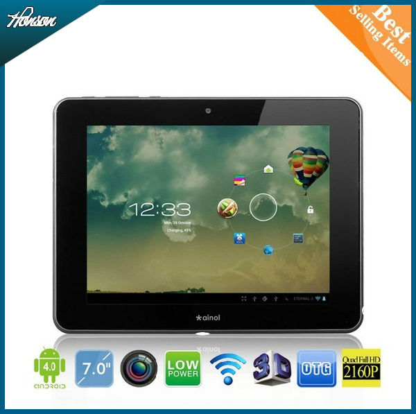 7 inch Ainol Legend android 4.0 tablet pc 1.2GHz Camera WIFI 512MB 8GB many core A13
