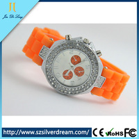 brand new stylish jelly silicone watch silicon rubber watch strap