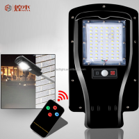 Outdoor lighting high brightness 30W all in one led solar rechargeable street light