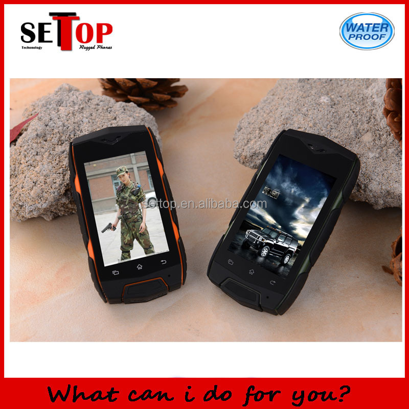 Discovery V10 Small Size Rugged Smartphone 2.4 Inch Capacitive Touch Screen Dual SIM Card WIFI GPS Android OS