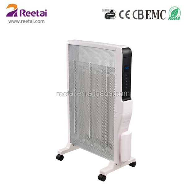 Electrical Radiator Heater with water proof IP24 remote control,timer, LED display