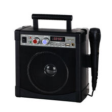 Digital Karaoke Amplifier with LED Music player and USB/SD Port