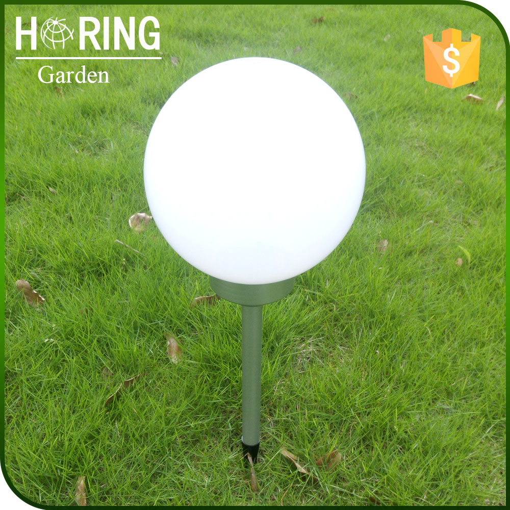 LED solar garden light Dia 20cm ball outdoor
