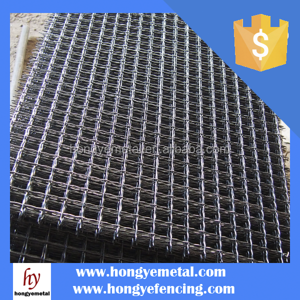Stainless Steel Crimped Wire Mesh Cable Tray And Accessories