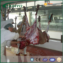 Halal Stainless Steel Sheep Slaughtering Line Equipment For Sheep Slaughterhouse