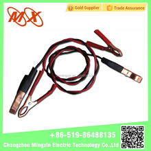 Copper clad aluminum booster cable car booster cable clamps/battery cables
