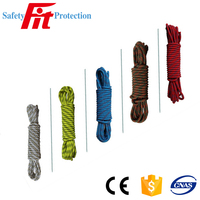 rock climbing rope variety color fall protection