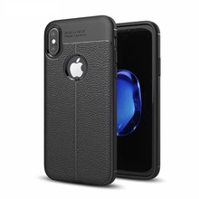 for iPhone 8 plus Black Soft TPU Back Case Cover Soft Tpu Back caseFor Iphone 7 plus