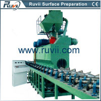 Steel Pipe Paint Remover Machine