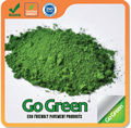 Green road pigment for color asphalt driveway