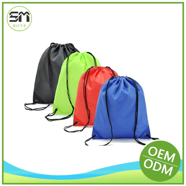 Factory supply new fashion hand embroidered drawstring bags