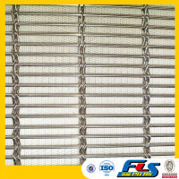 A Sparkling Cover Architectural Mesh Facade /Decorative metal facade mesh