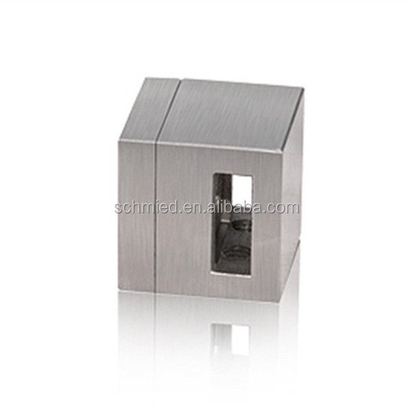 Stainless steel Square Two way Bar Holder bar connector crossbar holder