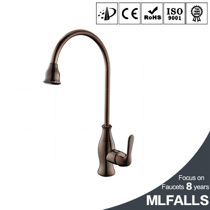2016 New Arrival Polished Copper Swivel ORB Water Filter Kitchen Tap Sink Mixer