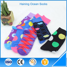 Eco - Friendly material support combed cotton eco hosiery socks