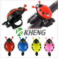 High Quality Cute Ladybug Design Bicycle bell / Cartoon Bicycle Bell / Bike Horn for Sale/Accessories