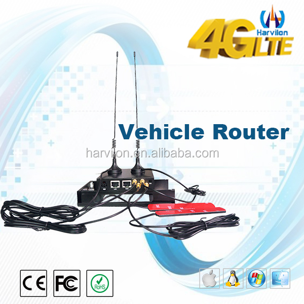 Open-WRT Advanced Router Detachable Antennas Supports WI-FI In Car Router Modem 4G