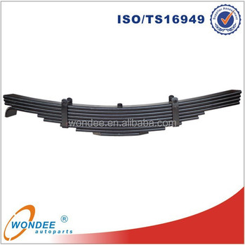High Quality Conventional OEM Steel Truck Trailer Leaf Spring