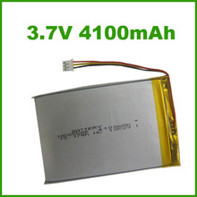 685585 4100mAh 3.7v lipo battery pack for tablet pc rechargeable battery used in USA with safety certificates