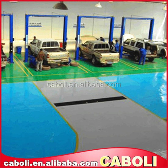 Caboli uv cured warehouse epoxy flooring spray coatings