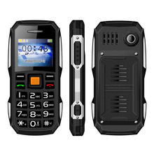 Single SIM Card FM Radio with External Antenna Torch mobile phone