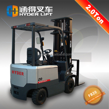 hinged forks forklift 2t electric heavy trucks lift movable