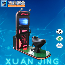guangzhou amusement factory supplier virtual reality game indoor motion horse riding simulator for sale price
