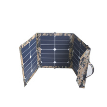 ISO9001 Shenzhen factory flexible solar panel 45W folding solar power charger for laptop smart phones