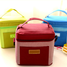 promotional portable refrigerated 6 can cooler bag