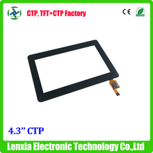 IIC interface 480x272 dots 4.3 inch capacitive touch screen