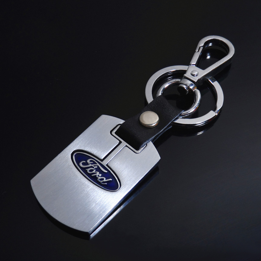 High quality Luxury car logo keychain, custom automotive car brand dealer promotional gifts metal keychain key chain keyring