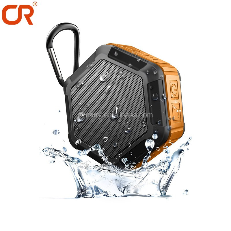 Professional Wireless output 5W Surface Printing Logo Mini Shower Portable Bluetooth Speaker