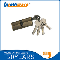 80mm security hotel door handles and locks cylinder