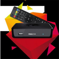 iptv set top box HD 1080p satellite receiver support lan wifi youtube youpron mag250 wifi adapter mag254