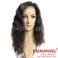 Superior quality Brazilian curly hair lace wig