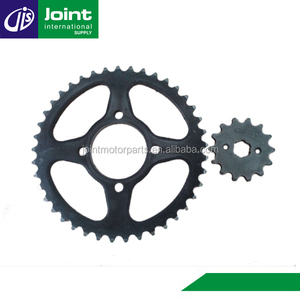 45# Steel Motorcycle Front and Rear Sprocket Motorcycle Sprockets for Honda C50
