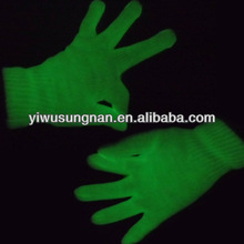 fashion wholesale party gloves glow in the dark