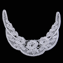 Embroidery designs flower neck Lace Collar