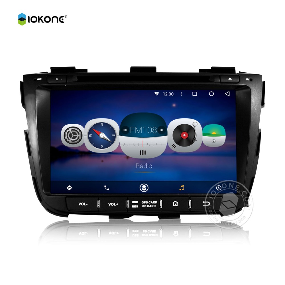 5.1 android audio sources for KIA SORENTO 2013 touch screen support BT,SWC
