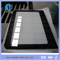4mm 5mm tempered low-e glass for oven door with silk screen printing