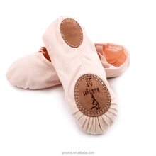 Factory Wholesale Canvas Split Sole Soft Ballet Dance Shoes
